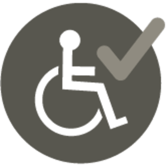 Fully accessible - lever handles for people with mobility issues